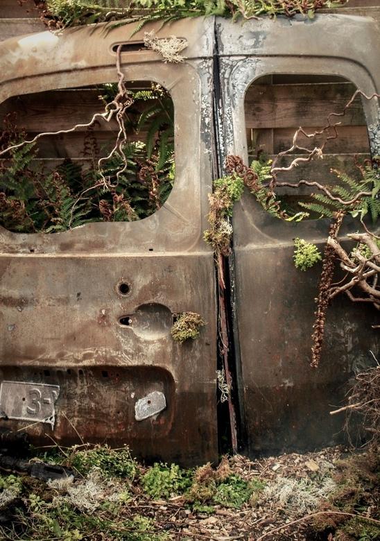 - oude auto -