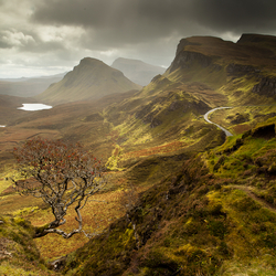 Rain over The Quiraing