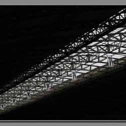 het dak van Amsterdam CS