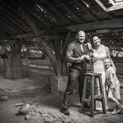 Huwelijk in de steenbakkerij