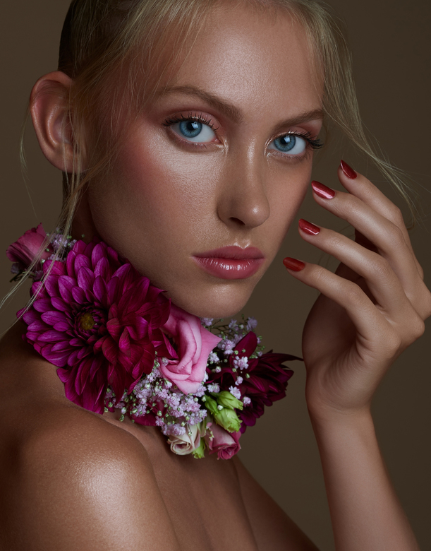 Painted in flowers -