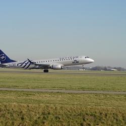 Plane KLM Skyteam