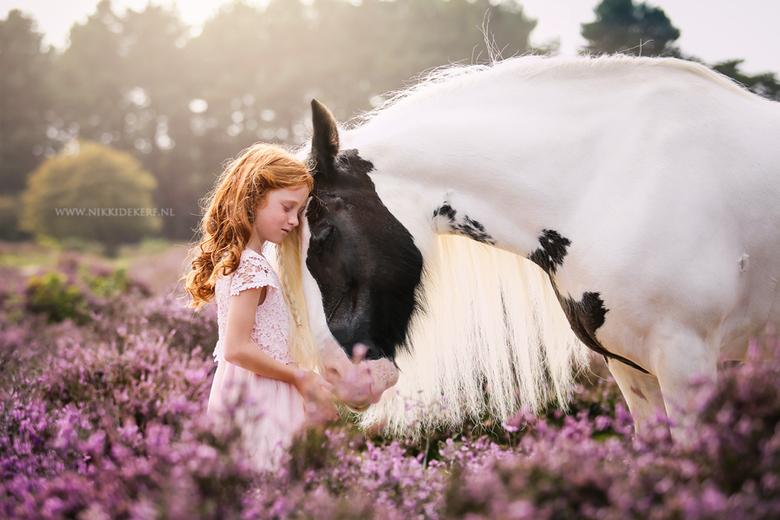 Puur - Soms heb je weinig woorden nodig. Hoe bijzonder is het om de pure liefde tussen paard & kind te mogen vereeuwigen, zoals hier bij Nova &amp