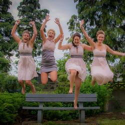 Crazy bridesmaids
