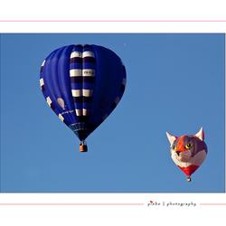 Ballonnen boven Joure