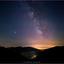 Melkweg boven de Colle d'Oggia (IT)