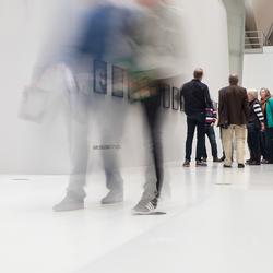 Beweging tijdens een expositie