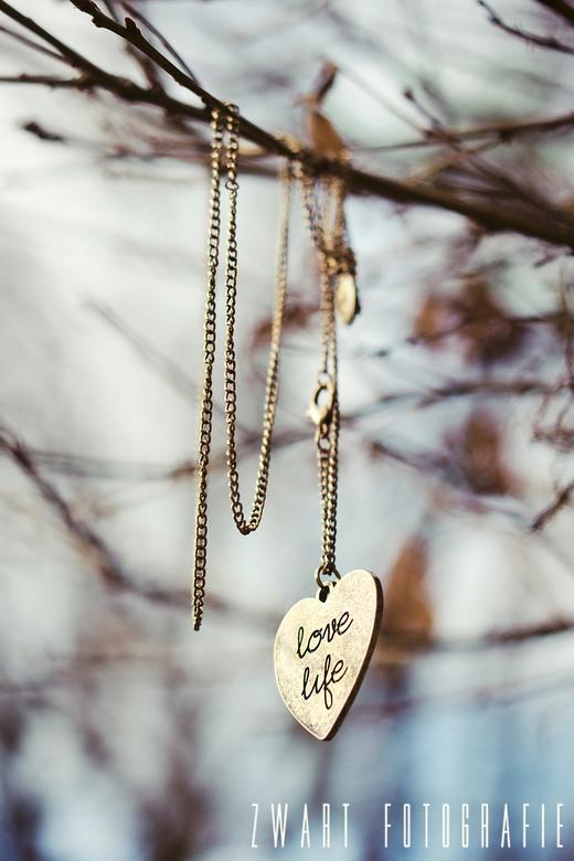 Love Life - Geïnspireerd door deze mooie ketting. Groot (1.8) diafragma voor mooie onscherpte!