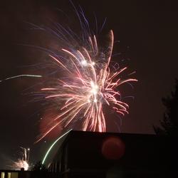 Oud en nieuw Apeldoorn Vuurwerk