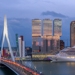 De havenstad: Rotterdam