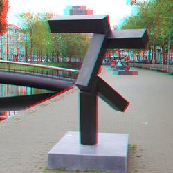 Beeldenroute Westersingel Rotterdam 3D