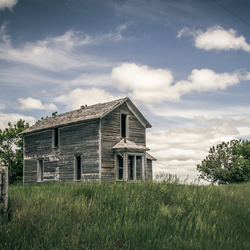 Abandoned house in South Dakota