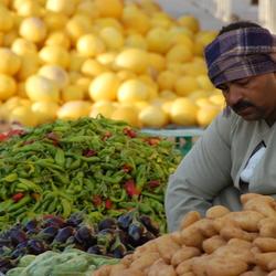 Marktkoopman Ghadames