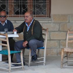 Cyprioten en hun cypriotische koffie
