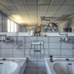 Handen wassen dokter...