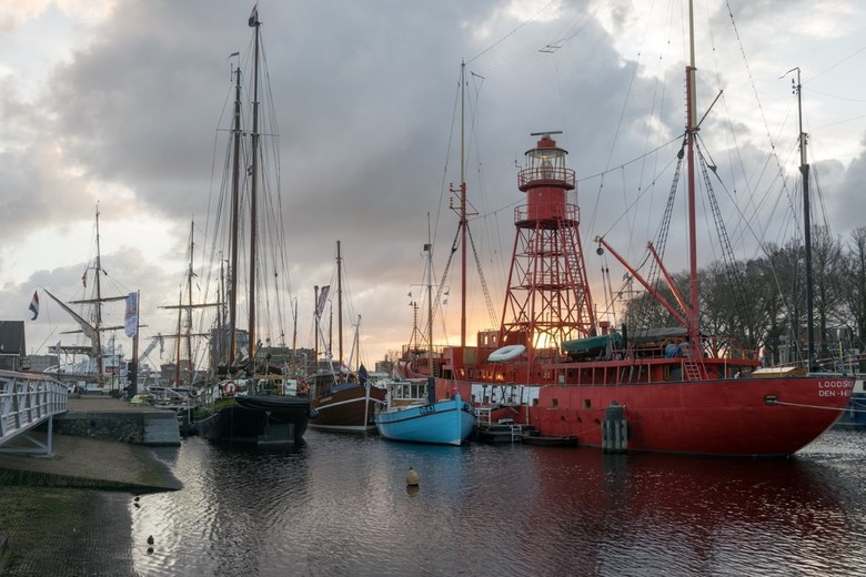 Den Helder in the cloud(s)