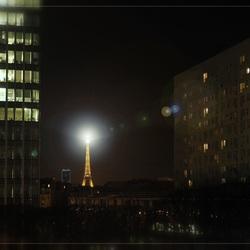 Eiffeltoren Parijs.