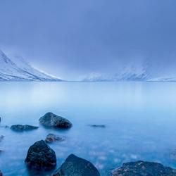 Bewolkt Erstfjordbotn