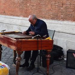 Straatmuzikant Rome
