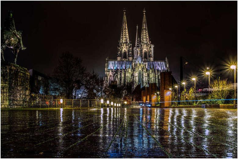 Dom Keulen - De dom van Keuken bij regenweer