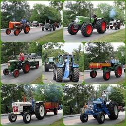 FotoJet  collage Oldtimer Tractoren Rit  s Gravenzande 3sept 2016