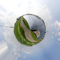 360graden Panorama Kagerplassen