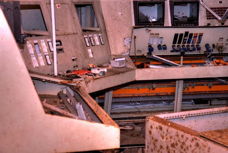 Crisiscentrum  - Crisiscentrum Muiden Chemie in Kollum. De vroegere Kruidfabriek die reeds 4 jaar bestaan heeft en daarna  vanwege duistere praktijken