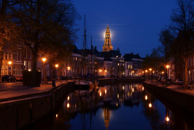 Aa-kerk Groningen - Hier een Foto van de Aa-kerk in Groningen.<br /> Tijdje geleden er heen geweest voor avond / Nachtfotografie