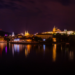 Praha bij the Moonlight