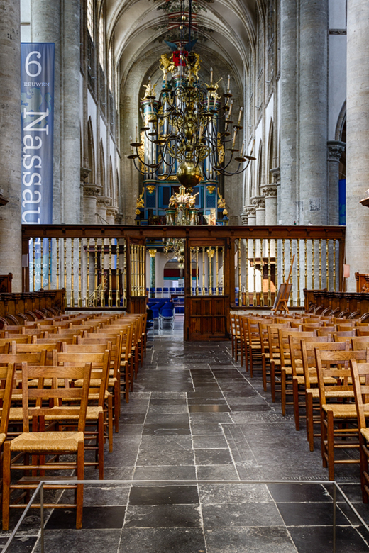 Interieur van de grote kerk van Breda   Architectuur foto van ...