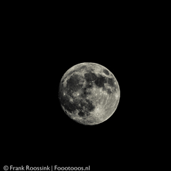 99% volle maan