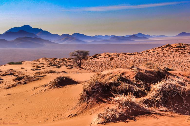 Namibie eindeloze verten - Namibia eindeloze variatie in vergezichten.
