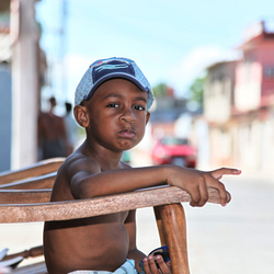 Cuba straatopname (litlle Boy)