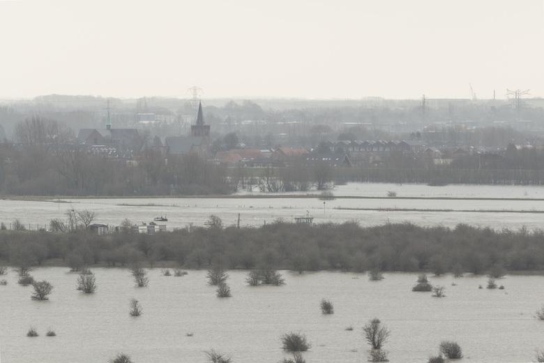 Uitzicht op Opheusden - Bij de Grebbeberg.