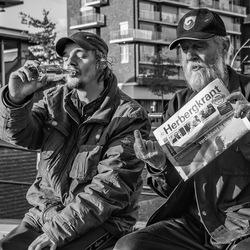 Mannen van de straat