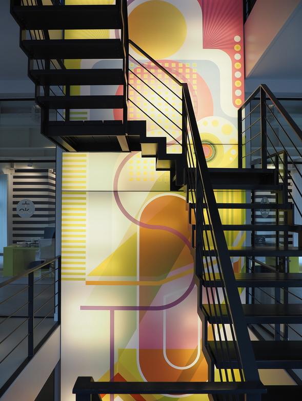 Entree  - In het Kapel...nu een super  modern Kantoor ..hoogstandjes  van de Architect
