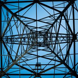 Electriciteit mast