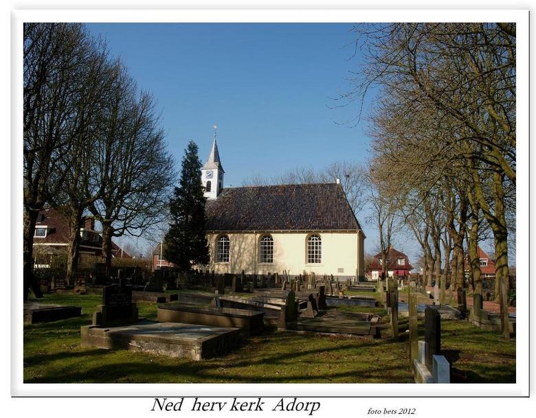 Ned herv kerk  Adorp (gr) - We hebben gisteren weer een tripje gemaakt  naar het |Hogeland  en   kwamen eerst langs Adorp       gr bets Nederlands: He