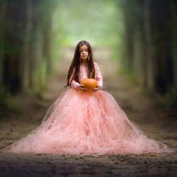 The little princess and her magical pumpkin