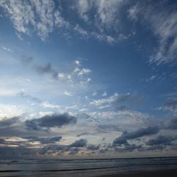 Lucht, water en zand 1
