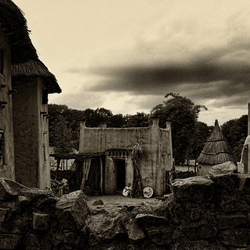 Mali-Dogon home