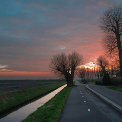 Zonsondergang Haarlemmermeer (FC-V-Z)