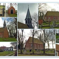 Het kleine kerkje van Den Ham (Gr.)