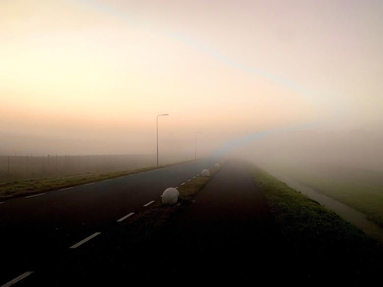 Onderweg naar werk -