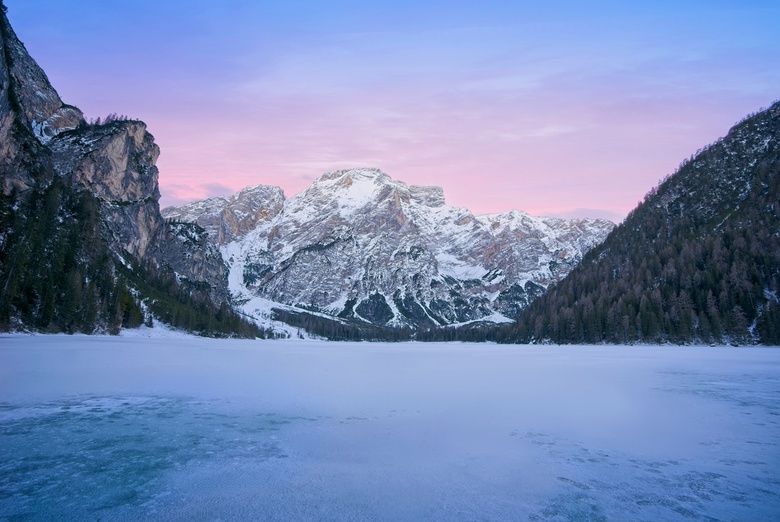 Lago di Braies 1 - This winter we went to  Val Pusteria, Dolomites. Our hotel location was perfect for some of the most iconic place on the Dolomites.