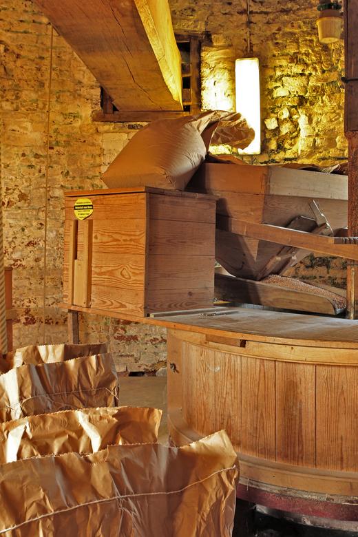 Beltkorenmolen - Spelt word hier gemalen tot meel.