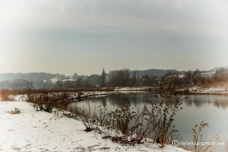 Sneeuw in Maastricht -