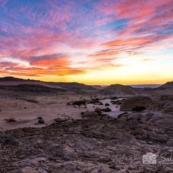 Wadi Araba Sunset