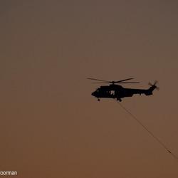 Blushelicopter Fochteloërveen