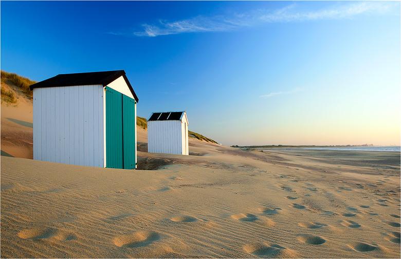 Cadzand490 - Op het strand bij Cadzand-Bad, Zeeuws-Vlaanderen, mei 2019.